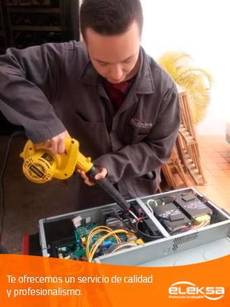 Venta y reparación de UPS, Reguladores de energía
